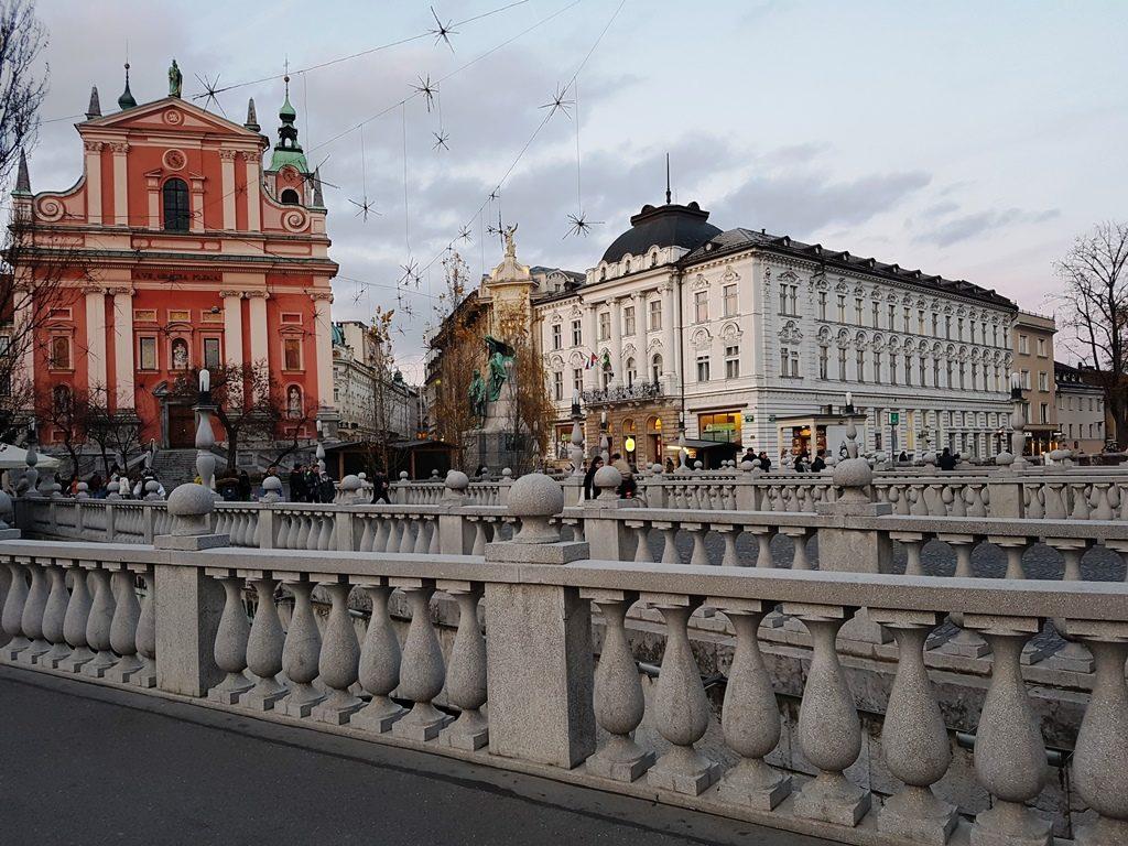 Drievoudige brug Ljubljana