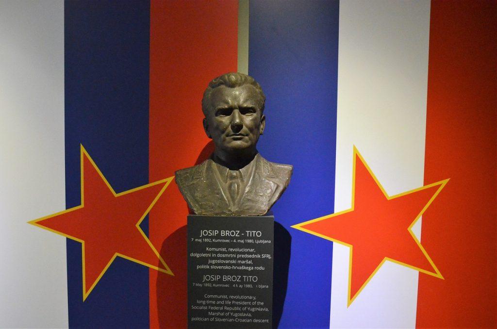 Park van Militaire Geschiedenis Pivka Slovenie