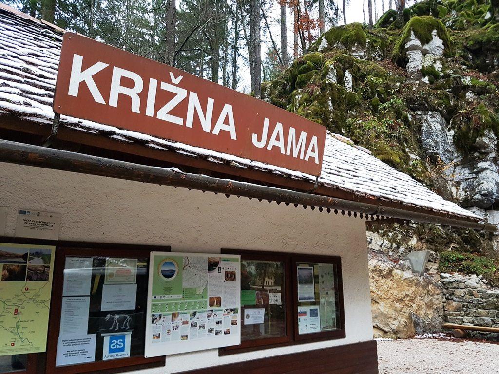 Krizna-grot in Slovenie