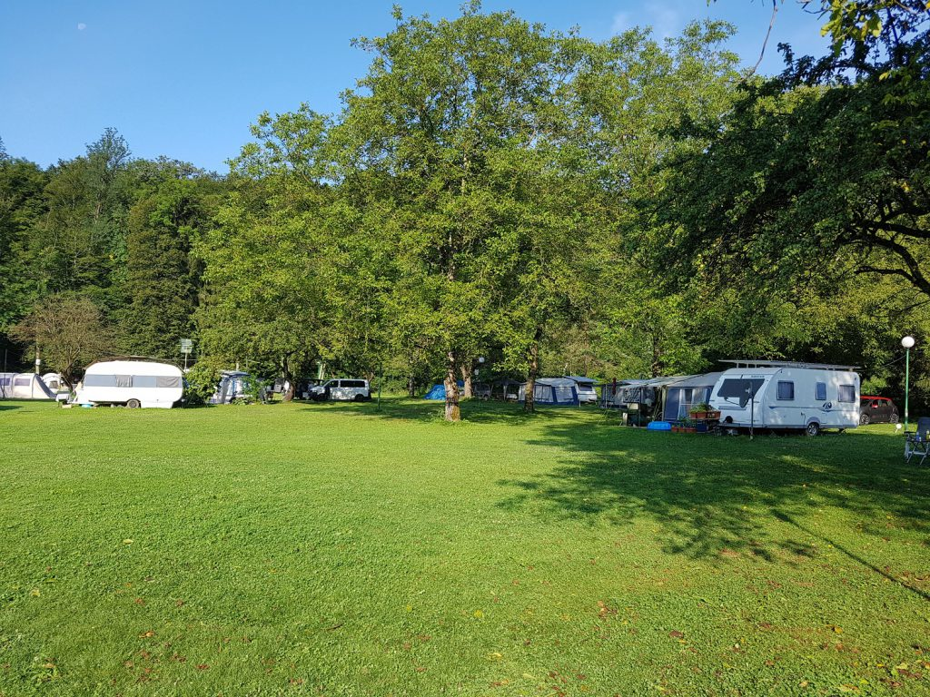 rustige camping in Slovenie