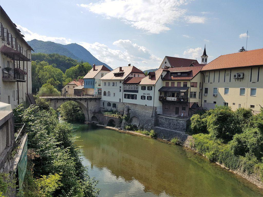 Skofja Loka in Slovenië
